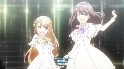 Narumiya Suzu (Left) & Saeki Haruko (Right)